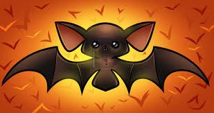 how to draw a kawaii halloween bat by darkonator drawinghub