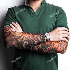 japanese tiger tattoos on sleeve