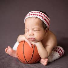baby boy photo props crochet sports team basketball photo prop crochet baby boy