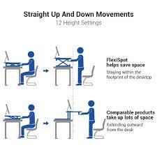sit and stand desk platform flexispot v s comparable standing desks wish list pinterest