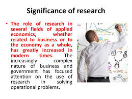 significance of research research methodology manu melwin