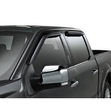 ford vgl3z 18246 g f 150 window deflector smoked set supercrew