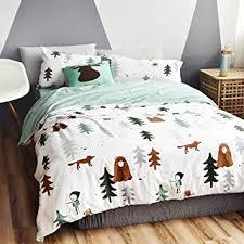 theme comforter bulutu siberia forest theme cotton us kids