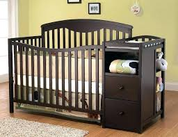 crib changing table combo crib with changing table crib with changing table crib changing