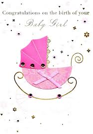 congratulations on new card greeting cards baby girl message congratulations birth new card