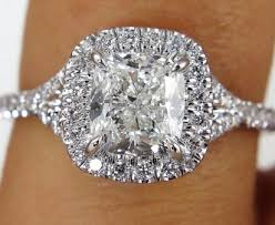 32 stunning cushion cut vintage engagement ring vis wed