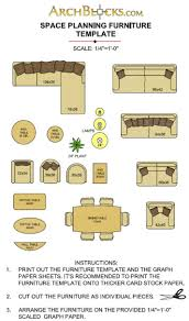 furniture templates for floor plans 14 printable furniture templates 14 inch scale free printable floor