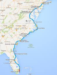 Std Map Südstaaten Routen Teil 1 Atlantikküste Country At Heart