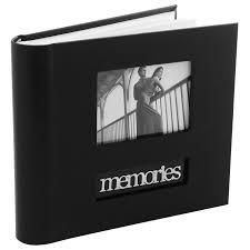 wedding photo albums 4x6 malden international designs memories cursive 2 up