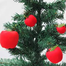 10 pack lot 2017 apple tree ornaments