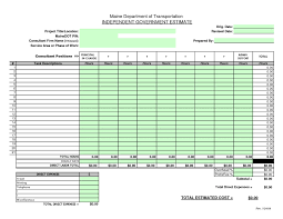 Labor Tracking Spreadsheet Construction Bid Sheet Template Construction Estimate Blank