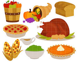 clipart thanksgiving food clipartxtras