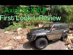 rctogether axial scx10 ii 2000 jeep cherokee first look