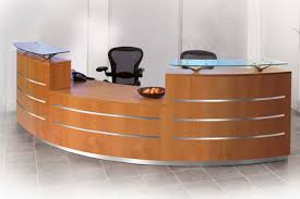 Affordable Reception Desk Modern Reception Desks Desk Furniture Throughout Plans 14