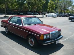 mercedes w123 coupe for sale mercedes 300 series coupe 1978 burgundy for sale