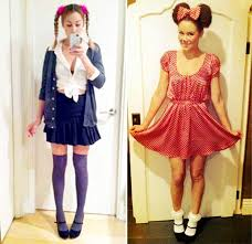 Cute Minnie Mouse Halloween Costume Check Lauren Conrad U0027s Adorable Halloween Costumes Lauren