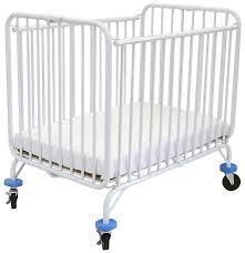 Folding Mini Crib by La Baby Deluxe Holiday Metal Crib U2013 Is It The Best Portable Baby Crib