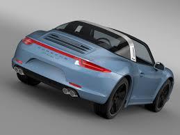 porsche targa 2015 porsche 911 targa 4s exclusive 2015 3d model cgtrader