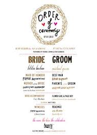 exle of wedding programs 227 best invite wording programs images on marriage