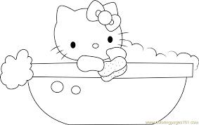 hello in bathtub coloring page free hello coloring