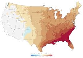 Us Climate Map Severe Thunderstorms And Climate Change Image Of The Day