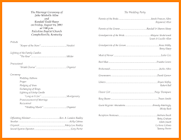 Sample Wedding Programs Templates 12 Program Template Portfolio Covers