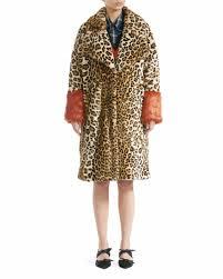 baum und pferdgarten baum und pferdgarten davan faux fur leopard coat skandiastyle