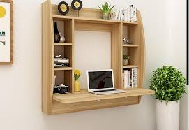 Wall Laptop Desk Fascinating Hanging Wall Desk Contemporary Best Ideas Exterior