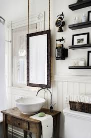 small mirror for bathroom suspended mirror bath