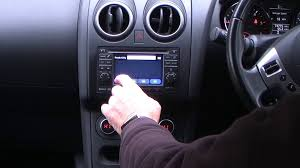 how to set the sat nav in a 2011 61 nissan qashqai 1 5dci n tec