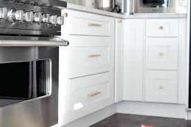 Hardware For Kitchen Cabinets Gold Cabinet Hardware Marble White Cabinets And Brass