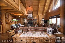 Beautiful Log Home Interiors Log Home Photos Lakeland Log And Timber Frame Homes