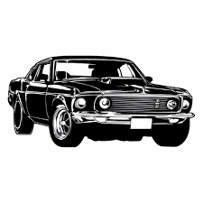 Black Mustang Online Get Cheap Mustang Vintage Cars Aliexpress Com Alibaba Group