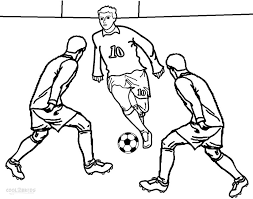 printable football player coloring pages kids cool bkids gekimoe