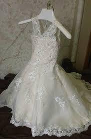 lace beaded infant mermaid flower dress
