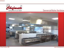 Kitchen Ventilation Design Kitchen Exhaust Hood India Chefmate