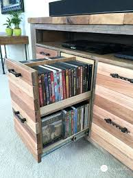 cd storage ideas dvd cd storage tower not the console idea i have in mind but these