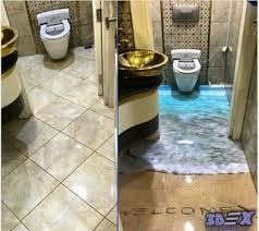 3d bathroom flooring how to make 3d bathroom floor and 3d self leveling floor