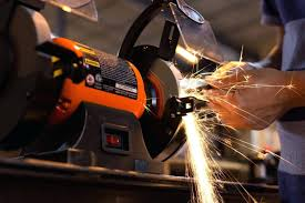 linishall bench grinder grinding wheel guard see through shield