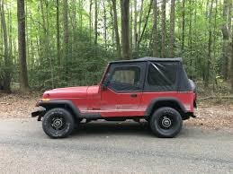 red jeep rubicon fs maryland 1988 red jeep wrangler 4 sale 3500 obo jeeps net