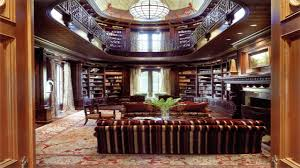 two bedroom interior design home library design two story library
