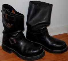 s boots size 9 1 2 s harley davidson boots size 9 1 2 used by luv2junk on etsy