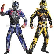 new movie superhero optimus prime bumblebee muscle cosplay costume