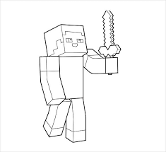 10 minecraft coloring pages jpg download