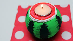 diy recycled bottles crafts ideas watermelon candle holder