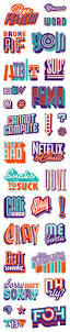 best 25 sticker design ideas on pinterest stickers camp gear viber sticker pack on behance this is a cool design using type art and