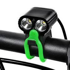mini led bike headlight with usb battery pack