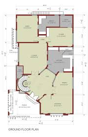 Cube House Floor Plans by House Floor Plan 1 Kanal House