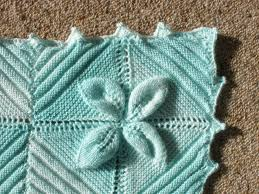 knitting pattern quick baby blanket leaf square baby blanket
