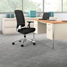 Hon Adjustable Height Desk by Contemporary Office Armchair Fabric Swivel On Casters Lota